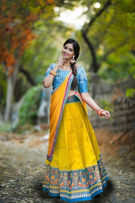 Yellow Embroidered Attractive Party Wear Lehenga Choli