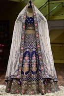 Celestial R Blue Colored Designer Lehenga Choli