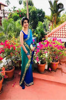 Multi Color Party Wear Printed Saree RR57