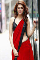 Admirable Red Color Designer Saree