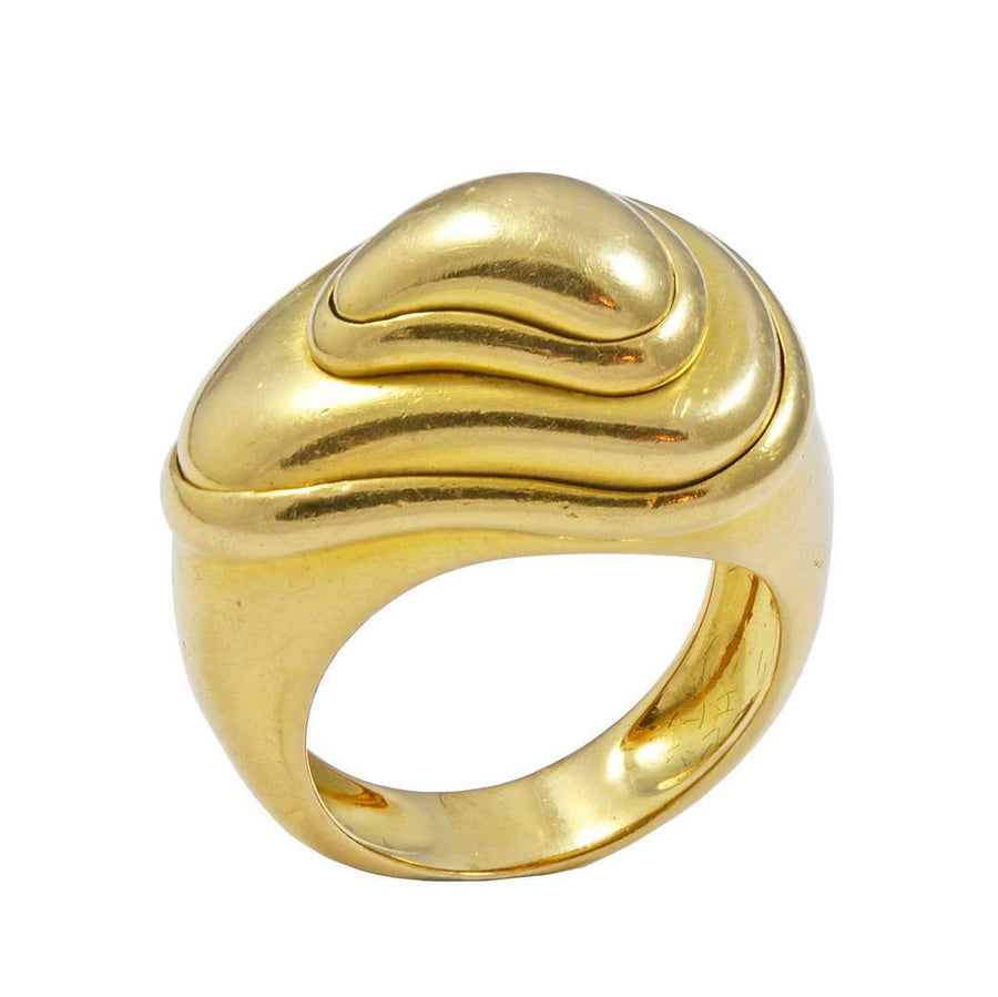 18 Karat Gold Strata FRED of Paris Ring