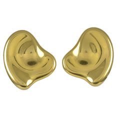 A pair of Gold Clip Earrings by Elsa Peretti