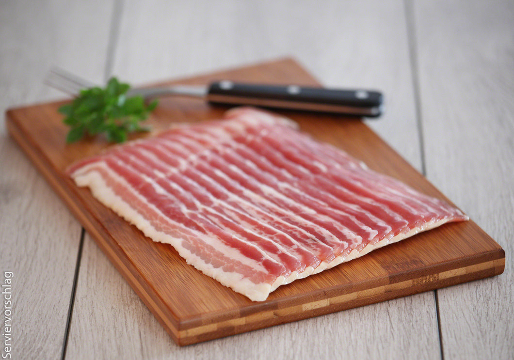 Bacon in Scheiben Paket = 200 g