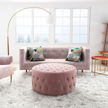 Load image into Gallery viewer, Oasis Pink Sofa
