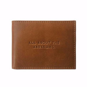 All About the Abrahams Leather Bifold Wallet