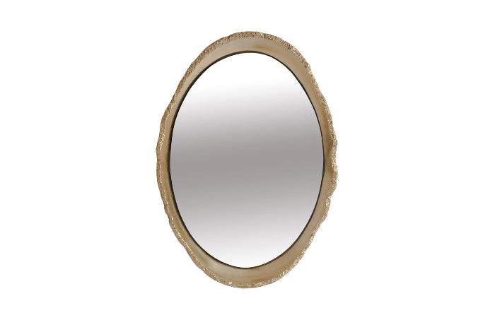 Broken Egg Gold Mirror