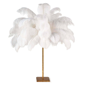 Josephine Feather Table Lamp