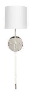 Bristow Nickel/Acrylic Sconce