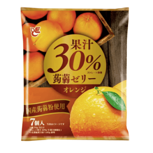 "Ace Bakery - Konnyaku Jelly Dessert ""Orange"" (Pouch Type) 140g Honeydaes - Japan Foods Grocery Online"