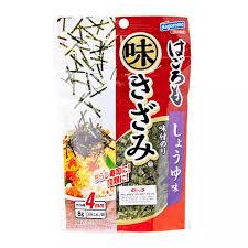 Aji Kizami Nori Seasoned Japanese Shredded Seaweed 8g japanmart.sg