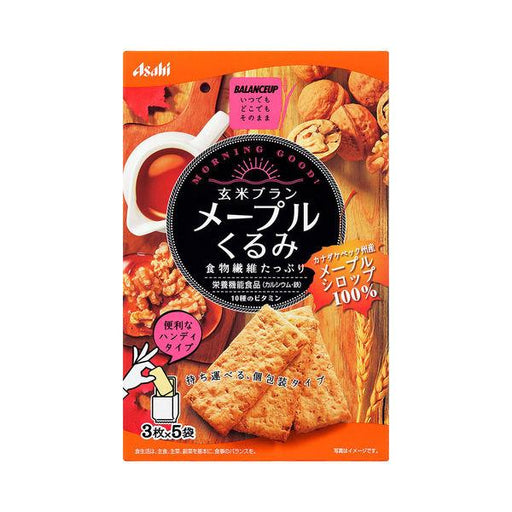 Balance-up Genmai-bran Maple Kurumi 150g Honeydaes - Japan Foods Grocery Online