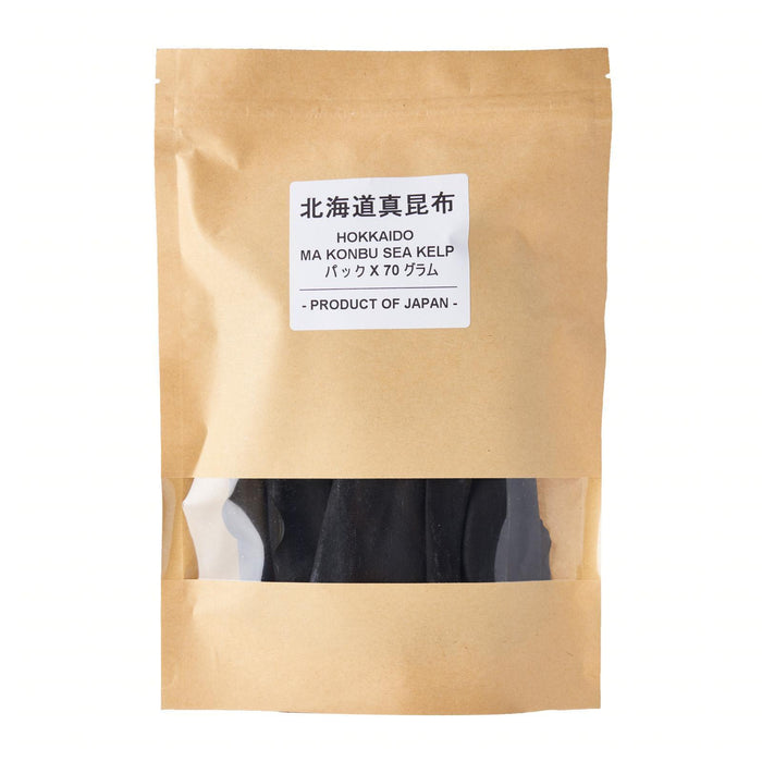 北海道真昆布 Kirei Hokkaido Ma Konbu Sea Kelp for Dashi 70 G Honeydaes - Japan Foods Grocery Online