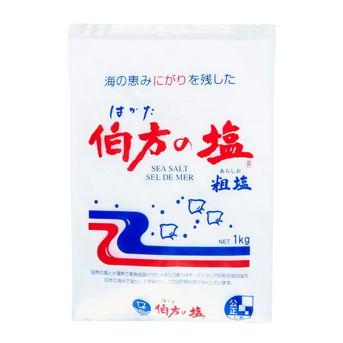 伯方の塩 粗塩 Hakata No Shio Japanese Sea Salt 1kg japanmart.sg