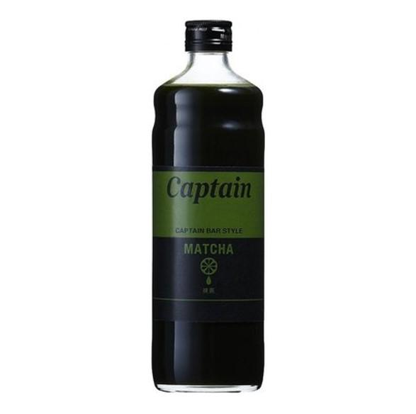 Captain Matcha Syrup 600ml japanmart.sg