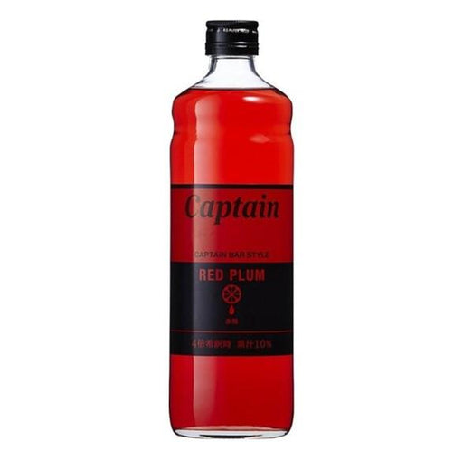 Captain Red Plum Syrup 600ml japanmart.sg