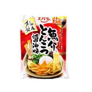 Ebara Petit Udon Japan Seafood Stock Tonkotsu Soy Sauce Maze Udon 88g (4 Capsules) Honeydaes - Japan Foods Grocery Online
