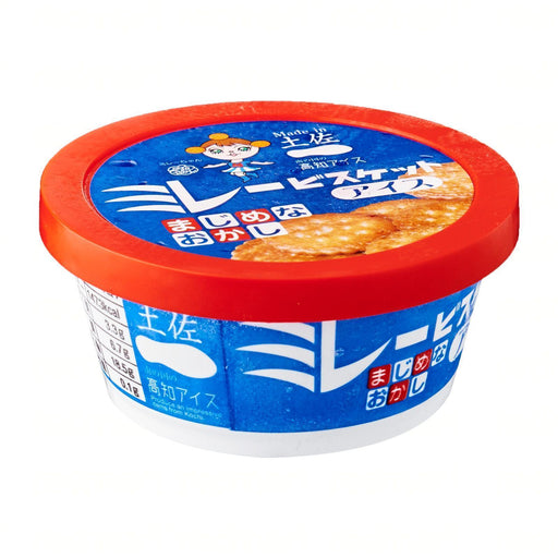 高知アイスミレービスケットアイス Kochi Ice Millets Milk Biscuits Ice Cream Cup 100ml japanmart.sg