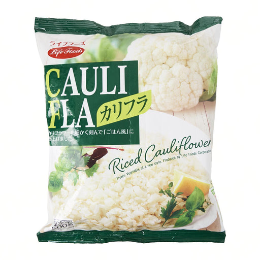 "冷凍 ライフフーズ カリフラ Life Foods Frozen ""Rice Cauliflower"" 500g Honeydaes - Japan Foods Grocery Online"