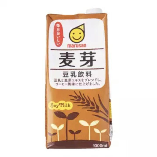 麦芽豆乳飲料 Marusan Everyday Delicious! Sweetened Malt Japanese 1000ml japanmart.sg