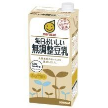 Marusan Everyday Delicious! Pure Unsweetened Soyabean Milk 1000ml japanmart.sg