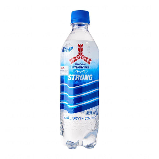 Asahi Mitsuya Cider Zero Strong Soda 500ml Honeydaes - Japan Foods Grocery Online