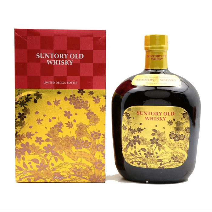 サントリーオールドウイスキー Suntory OLD Japanese Whisky 700ml 43% * Limited Design japanmart.sg