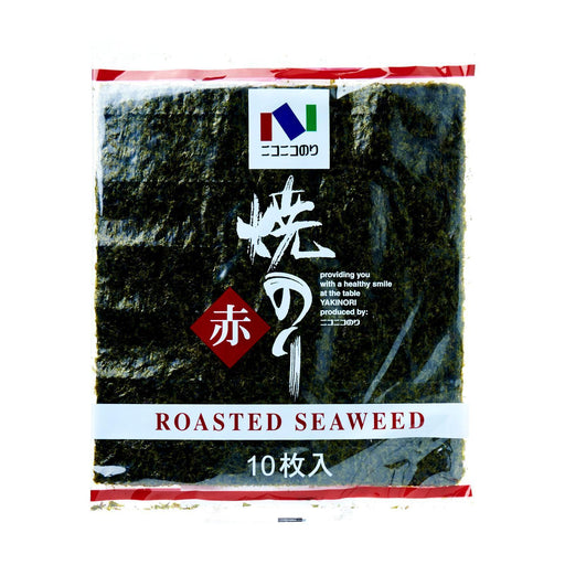 焼き海苔 Kirei Yakinori Sheets Japanese Seaweed Sheets for Sushi (10 pcs) japanmart.sg