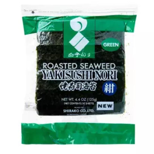 焼き海苔 Kirei Yakinori Sheets Japanese Seaweed Sheets for Sushi (50 pcs) japanmart.sg