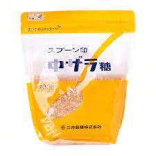 (Spoon Brand Easy Resealable Pouch Series) Japanese Chu Zarame Brown Sugar 400g Honeydaes - Japan Foods Grocery Online