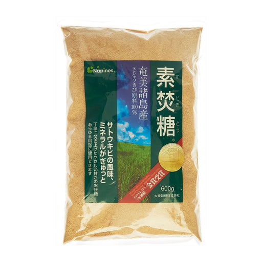 素焚糖 Napines Sudaki Tou Sugar Japanese Award Winning Brown Sugar 600g Honeydaes - Japan Foods Grocery Online