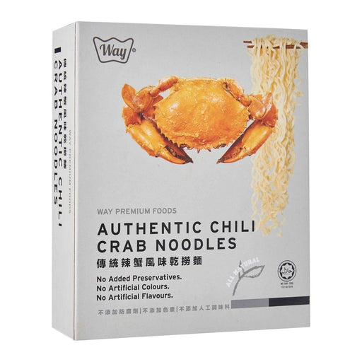 Way Premium Authentic Chilli Crab Noodle 120G japanmart.sg