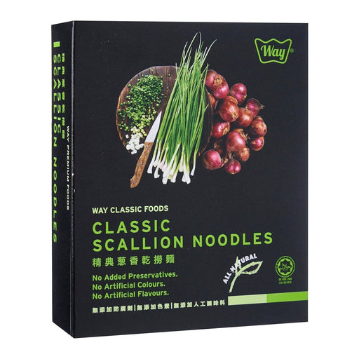 Way Premium Classic Scallion Noodles 105g japanmart.sg