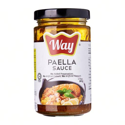 Way Premium Foods Paella Sauce (Glass Bottle) 200G japanmart.sg