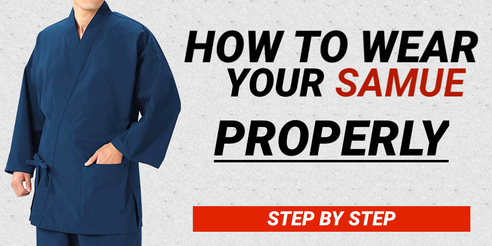 how to wear a samue
