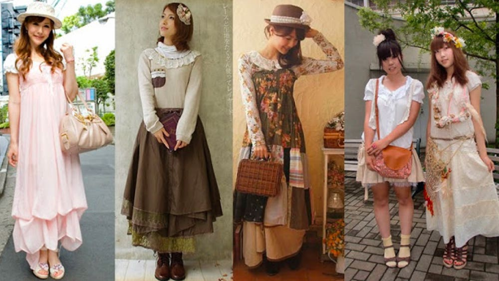 mori kei fashion