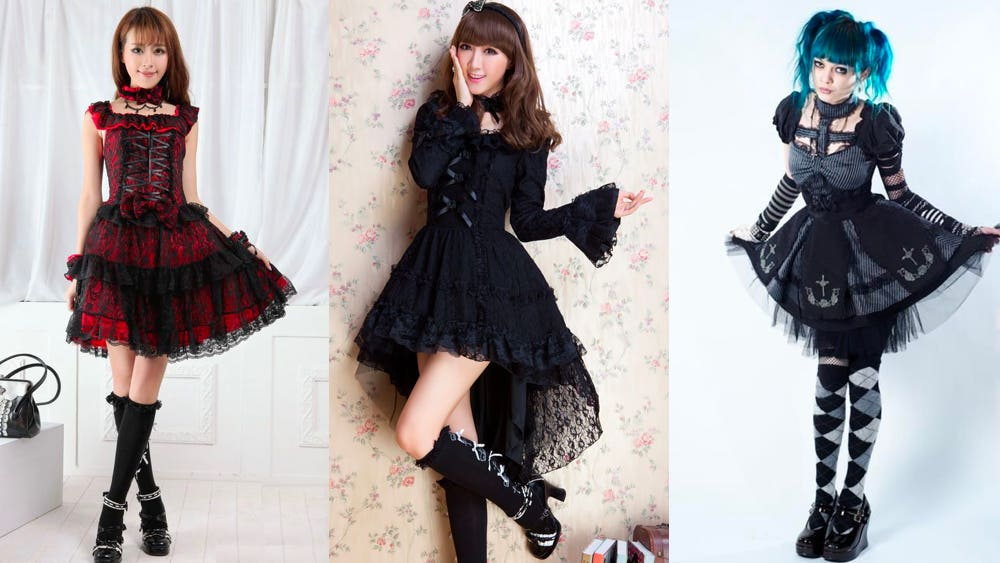 punk lolita fashion