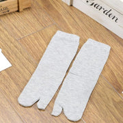 Gray Tabi Socks