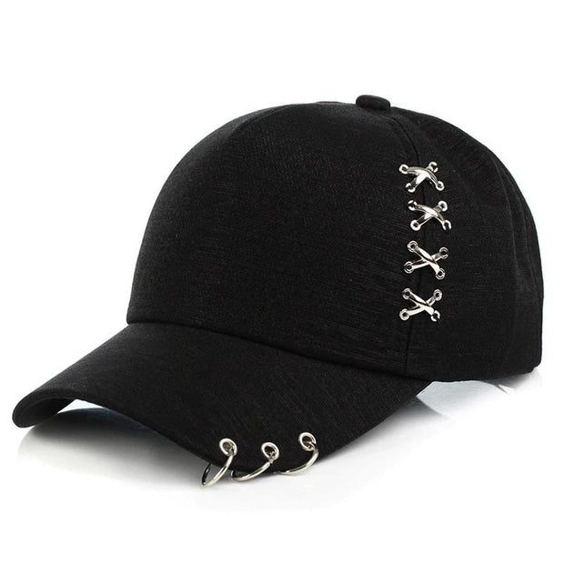 Hat With Rings