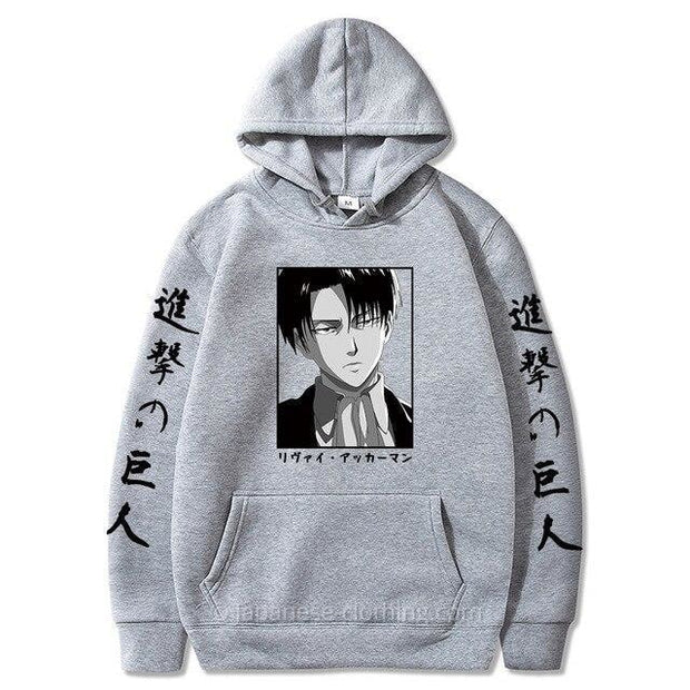 Levi Face Hoodie