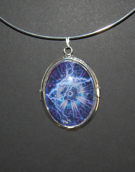Large Pendant - Lightening Strike