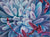Focus - Succulent Flower Oil Painting