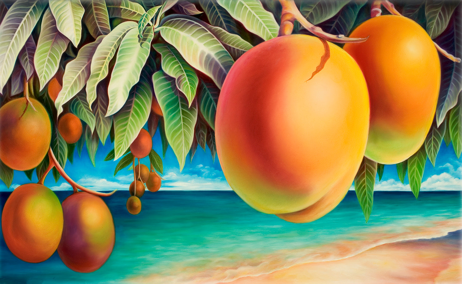 Mangoes on the Beach