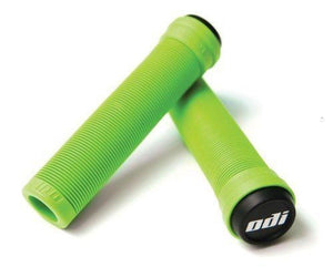 ODI Soft Flangeless Longneck Scooter Grips - Green