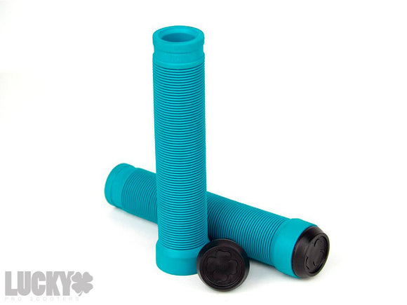 Lucky Vice Scooter Grips - Teal