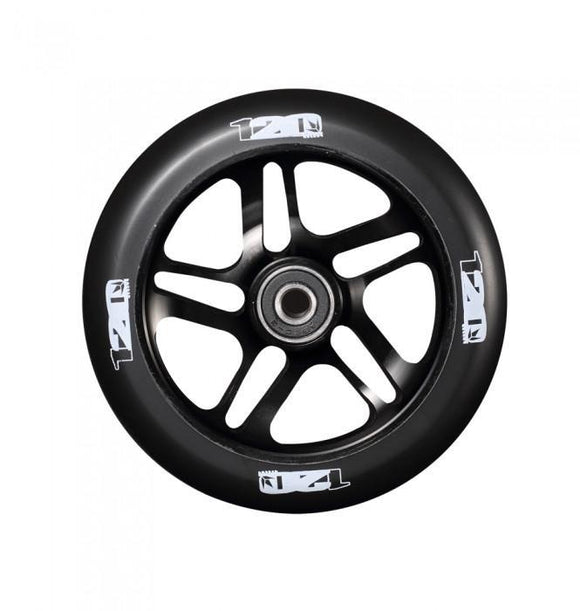 Envy 5 spoke 120mm scooter wheels - black