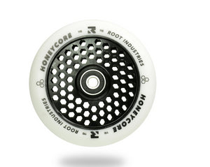 Root Industries AIR Honeycore Wheel 120mm White / Black
