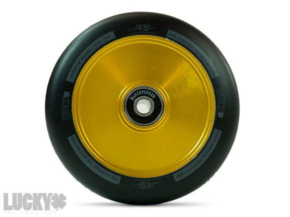 Lucky Lunar 110mm JMP Signature Scooter Wheels GOLD