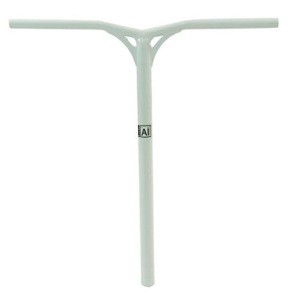 Lucky AIRBar Aluminum Pro Scooter Bars - White