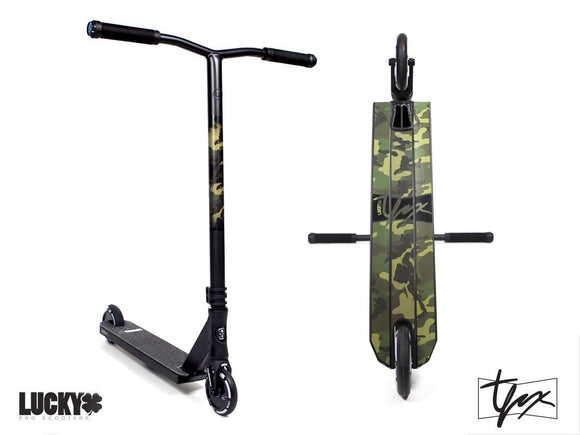 Lucky Tanner Fox Signature Pro Scooter Camo