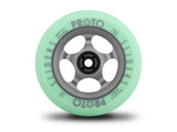 PROTO Faded Sliders Green on Grey bearings included Pair